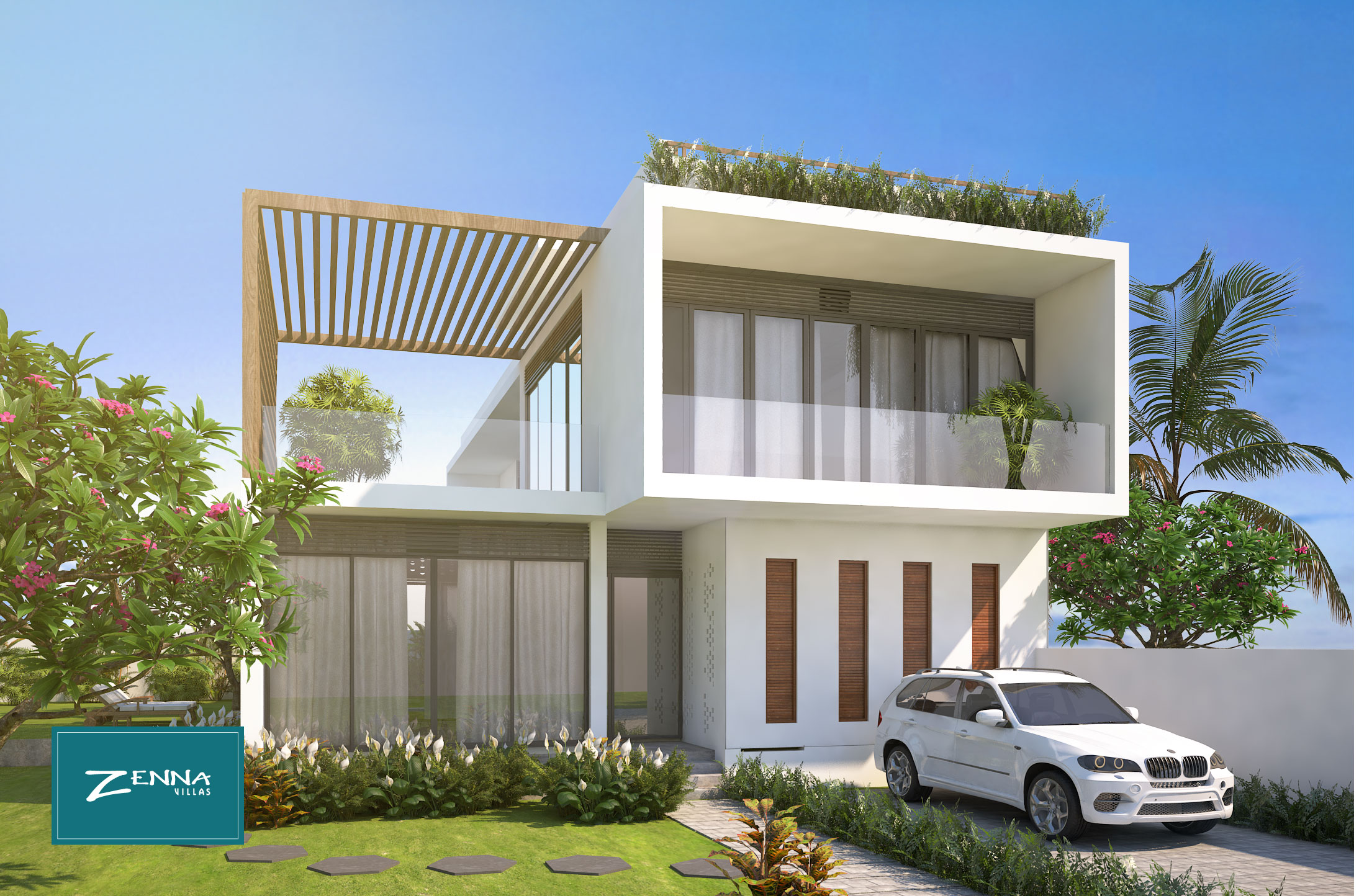 thiet ke zenna villas - cantavil long hai
